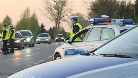 Wzmożone siły policji będą pilnowały bezpieczeństwa na drogach