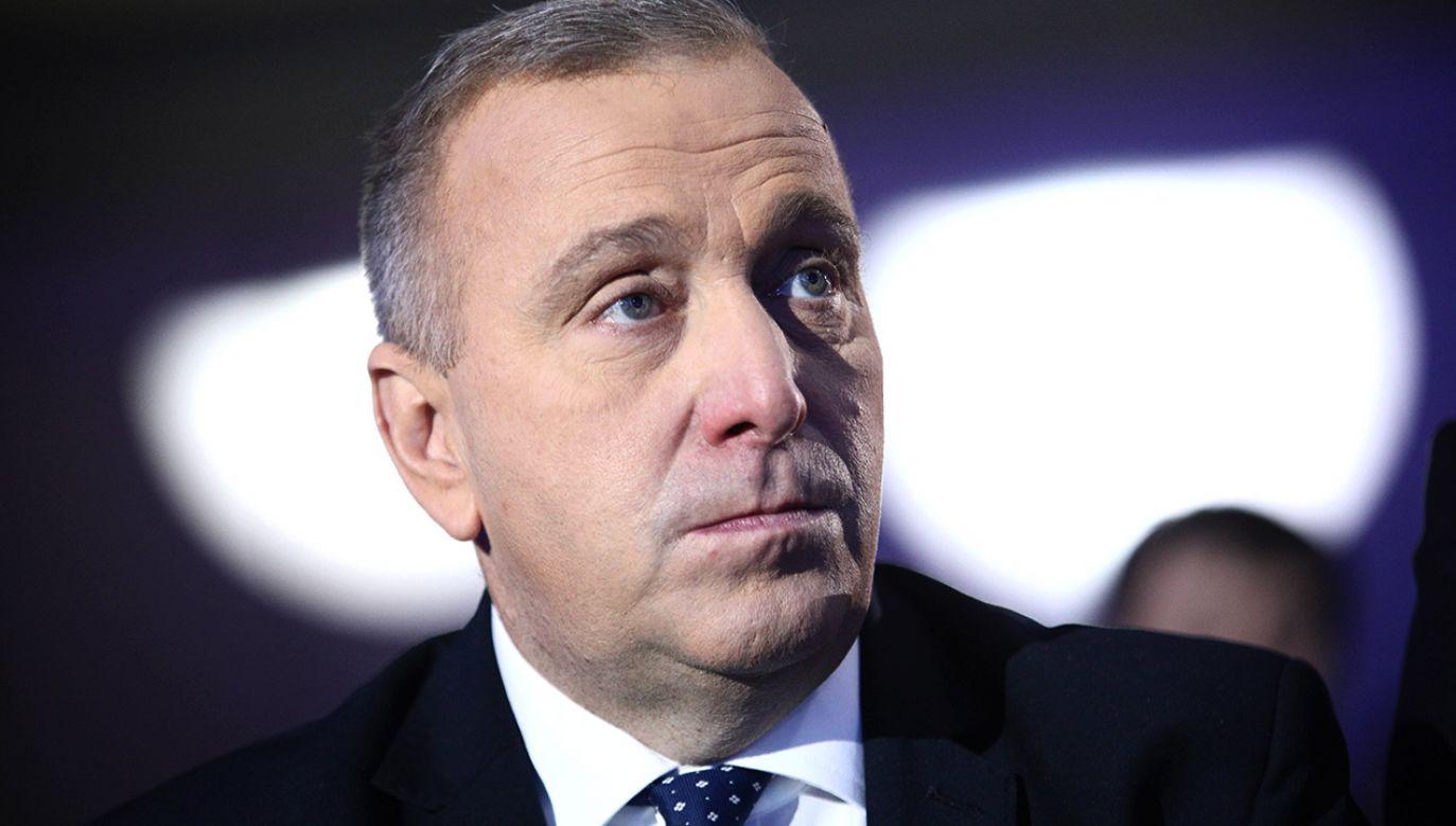 Grzegorz Schetyna mówi, że PO nie jest za projektem Barbary Nowackiej (fot. arch.PAP/Leszek Szymański)
