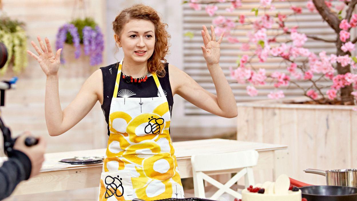 Justyna już się poddaje? Niemożliwe! Mieszkanka Siemianowic Ślaskich uwielbia tworzyć kulinarne dzieła sztuki (fot. TVP)