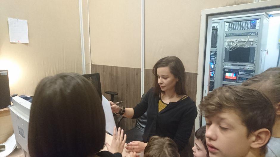 Wizyta dzieci z Orzysza (27.01.2016)