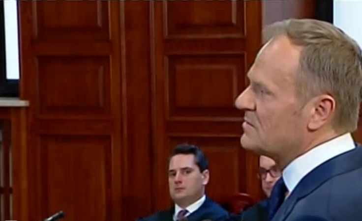 Przesłuchanie Donalda Tuska