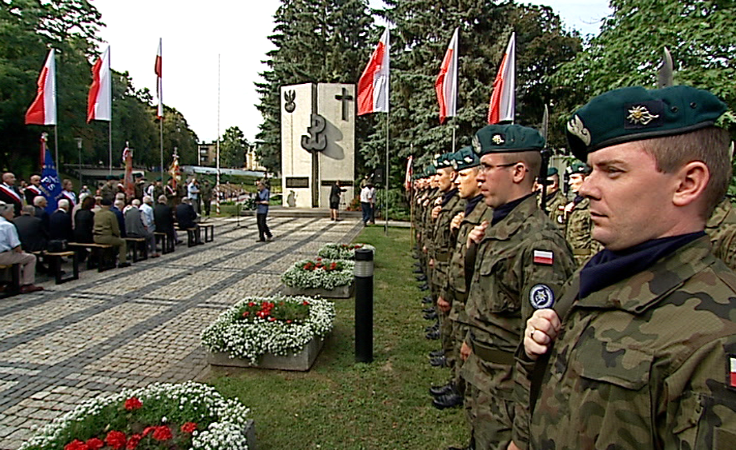 Rocznica wybuchu Powstania Warszawskiego.