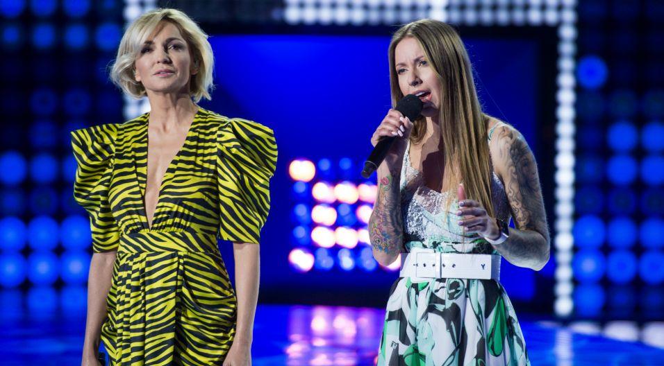 Joanna, która wygrała odcinek z Anią Wyszkoni w roli jurora, była ostatnią uczestniczką finału (fot. J. Bogacz/TVP)