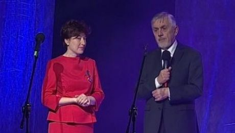 Dyrektor TVP Szczecin odznaczona Złotym Krzyżem Zasługi