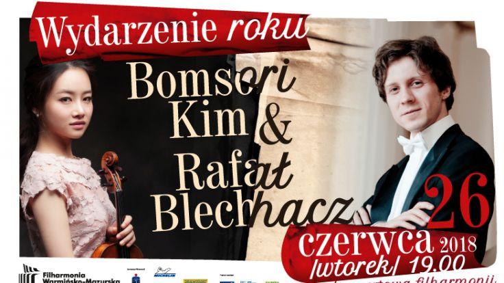 Bomsori Kim i Rafał Blechacz wystąpią w najszlachetniejszej odmianie muzyki jaką jest kameralistyka
