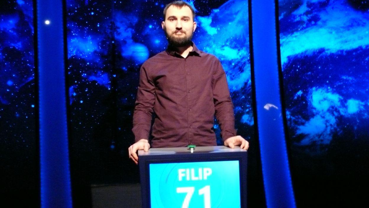 Filip Szczygieł - zwyciezca 20 odcinka 105 edycji