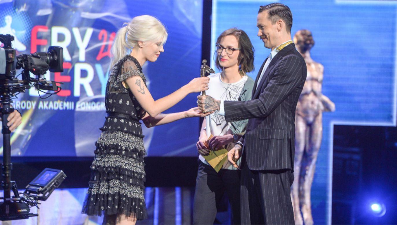 Daria Zawiałow została uhonorowana za debiutancki album (fot. PAP/Stach Leszczyński)
