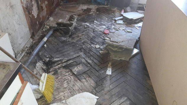 5 lokatorów kamienicy trafiło do szpitala (fot.Twoje Info)