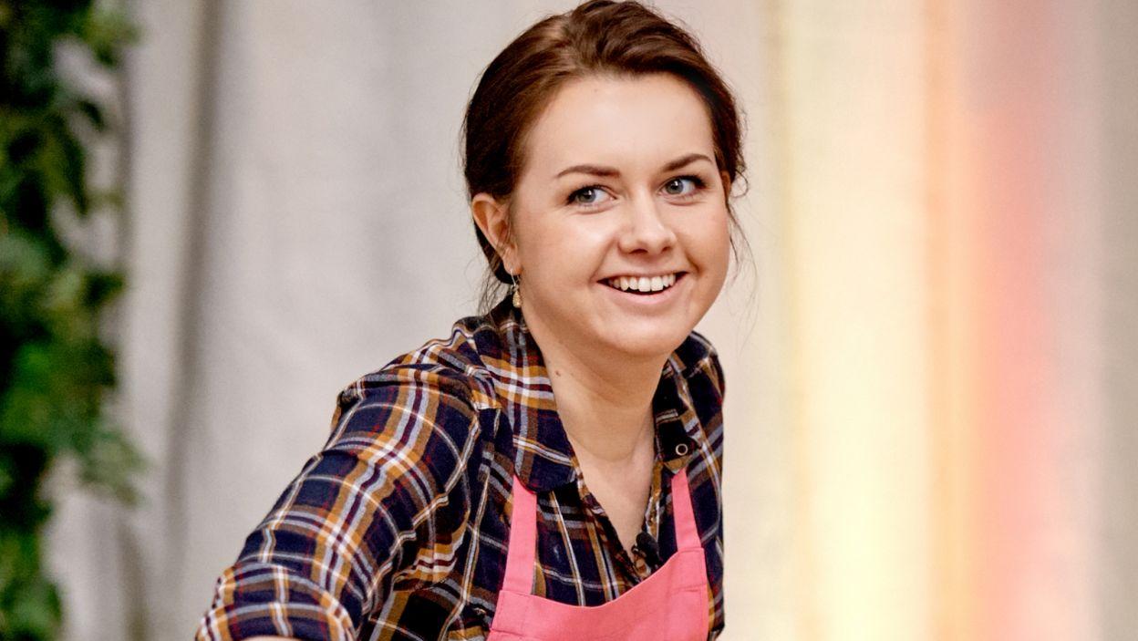 Dorota Habdas przygotowuje tiramisu (fot. TVP)