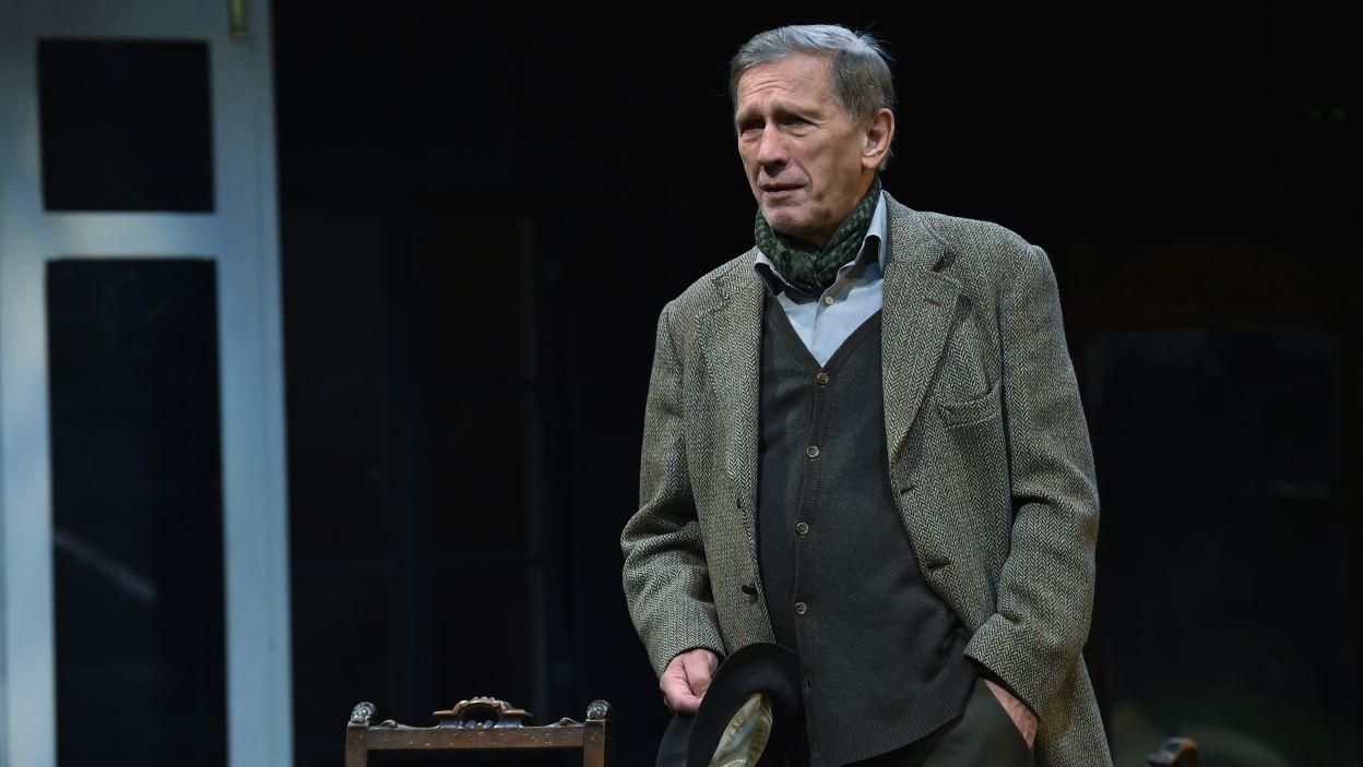 Jan Englert zagrał Radosta, a jednocześnie wyreżyserował spektakl  (fot. I. Sobieszczuk)
