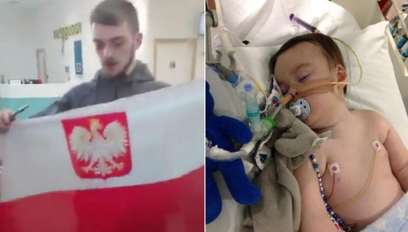 Brytyjski sąd apelacyjny ostatecznie się nie zgodził na wyjazd chorego dziecka na wyjazd do włoskiej kliniki (fot. twitter)