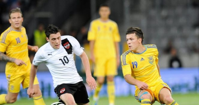 Zwycięski gol dla Austrii padł w samej końcówce (fot. PAP/EPA)