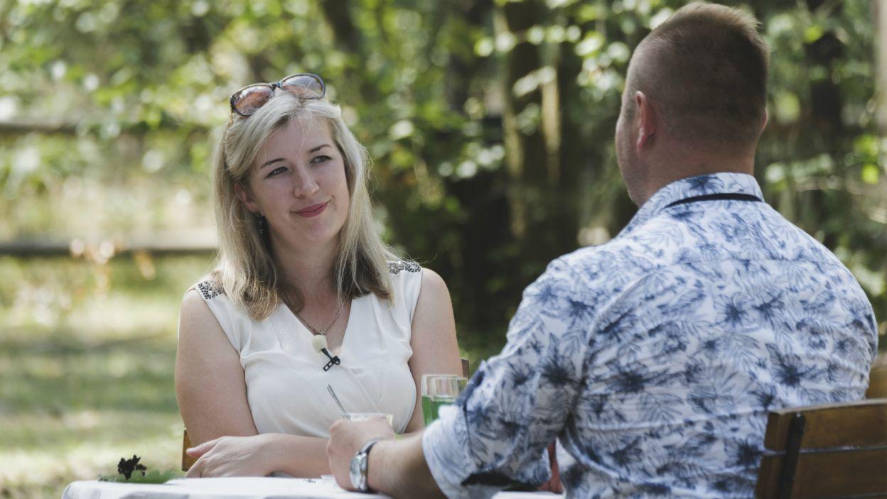 – Dziękuję ci za udział w programie – usłyszała Iwona. Kobieta od początku podejrzewała, ze taka będzie decyzja mężczyzny (fot. TVP)