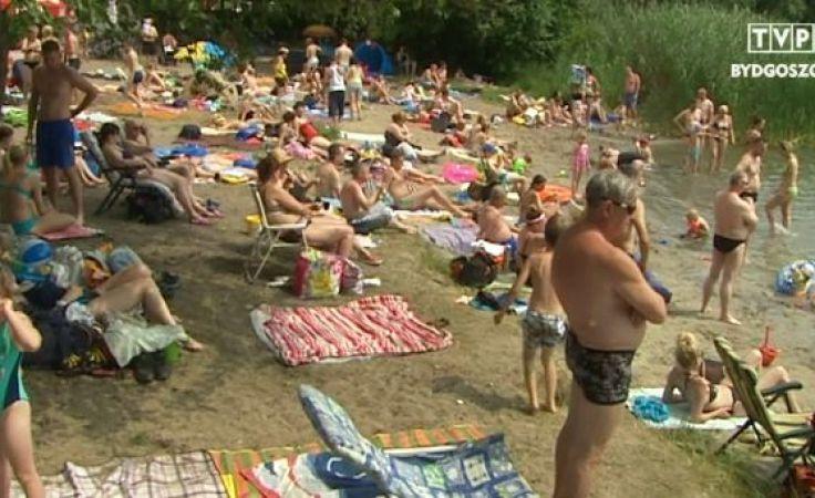Strzeżone kąpielisko w Borównie wciąż zamknięte