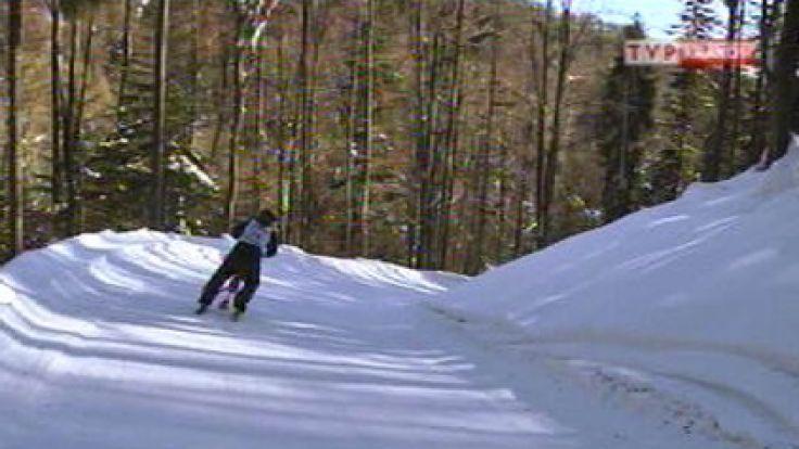 Karnawał Góralski w Bukowinie Tatrzańskiej, zawody Trikke Ski w Muszynie 16 II 2012