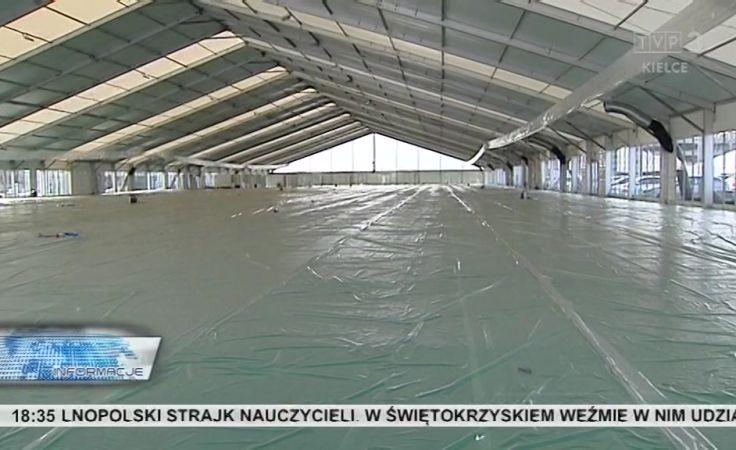Specjalnie na Agrotech jest montowany największy w Polsce przenośny pawilon targowy.