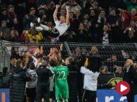 Piłka nożna - mecz towarzyski: Niemcy - Anglia (skrót)