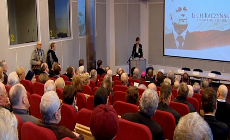 Konferencja i wspomnienie o Lechu Kaczyńskim