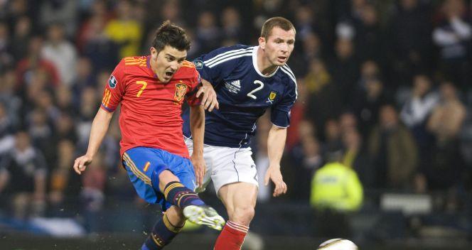 Mistrzowie świata i Europy długo męczyli się ze Szkocją (fot.PAP/EPA)