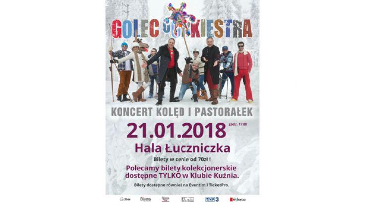 Koncert kolęd i pastoralek Golec uOrkiestra