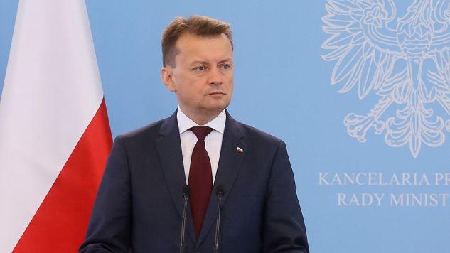 Szef MSWiA potępił sobotnie zajścia w Radomiu (fot. PAP/Paweł Supernak)