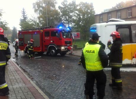 Ćwiczenia służb ratunkowych w Strzelcach Kraj.