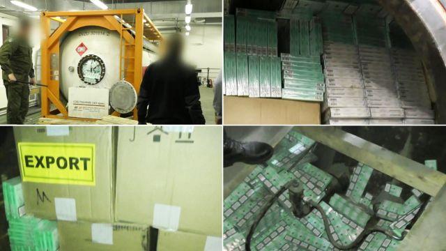 Straż Graniczna udaremniła przemyt papierosów na Podlasiu