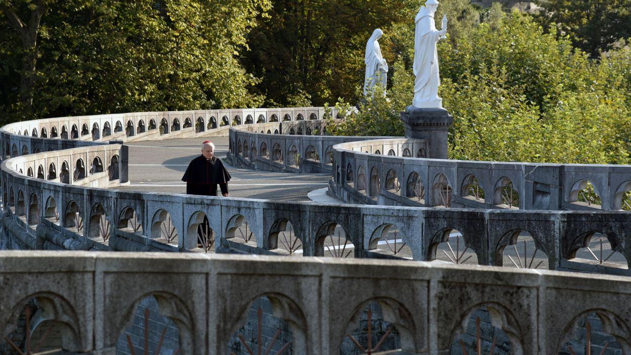 ... i poza granicami Polski m.in. w Lourdes (fot. Agata Ciołek)