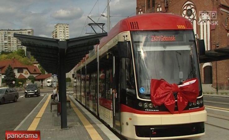 Nowa trasa tramwajowa w Gdańsku