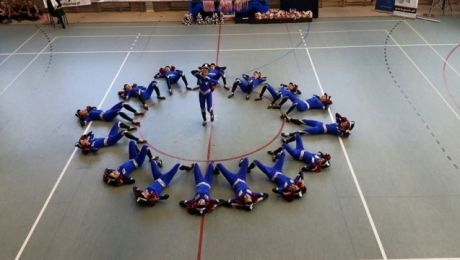 Mistrzowskie cheerleaderki podbiły Europę
