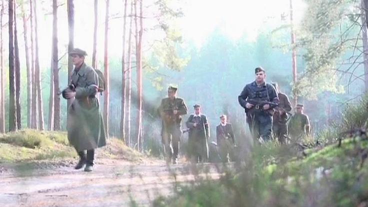 """Kadr z filmu """"Ostatni rajd Zapory"""""""
