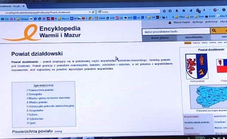 Warmia i Mazury od A do Z, czyli pierwsza polska encyklopedia regionalna