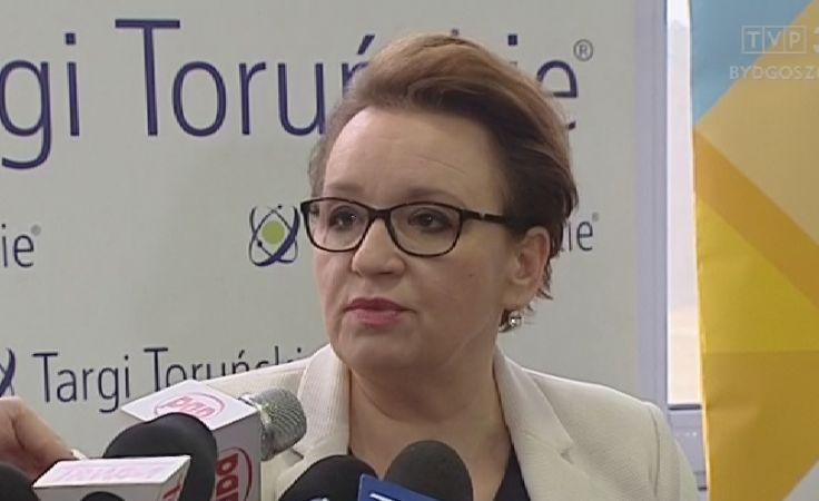 Forum Zawodowców z minister edukacji Anną Zalewską