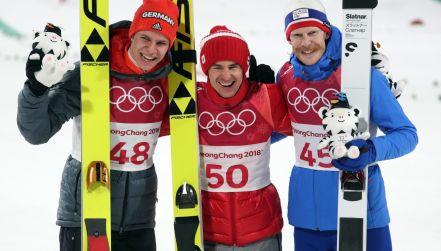 Dekoracja kwiatowa mistrza olimpijskiego Kamila Stocha!