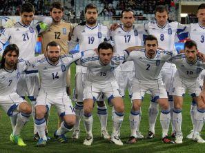 Reprezentacja Grecji (fot. PAP/EPA)