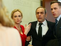Wsparcie rodziny bardzo się przyda, zwłaszcza, że w sądzie czeka na niego osobliwa sprawa (fot. TVP)