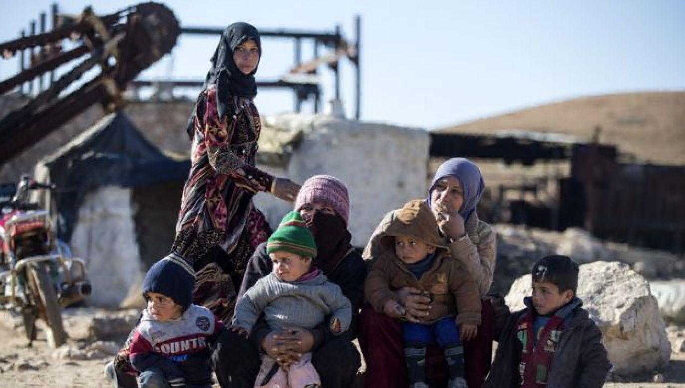 Wojna w Syrii wygnała z tego kraju ponad 5 mln osób (fot. Emin Sansar/Anadolu Agency/Getty Images)