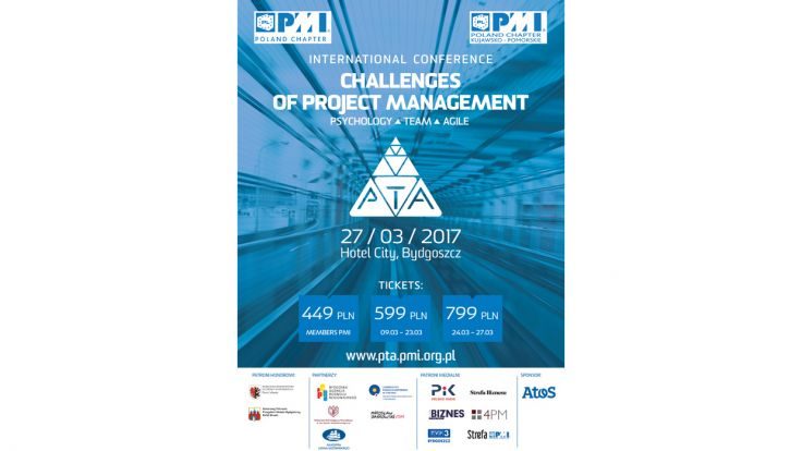 "Konferencja ""Challenges of Project Management: Psychology, Team, Agile"""