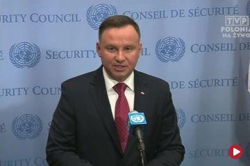 Andrzej Duda w ONZ