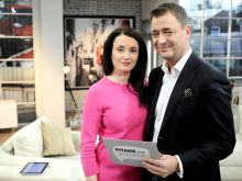 """Iwona Radziszewska i Jacek Rozenek to nowa para prowadzących w """"Pytaniu na śniadanie"""" (fot. Agencja Forum)"""