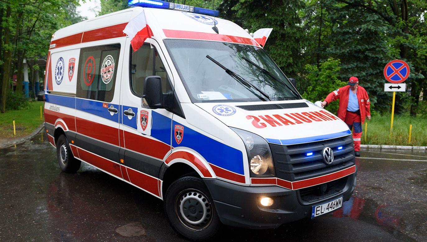 Przyczyny wypadku bada policja (fot. arch.PAP/Jakub Kaczmarczyk)