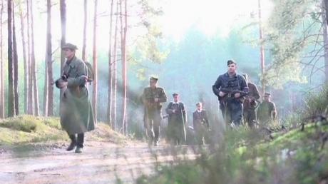 Kadr z filmu Ostatni rajd Zapory