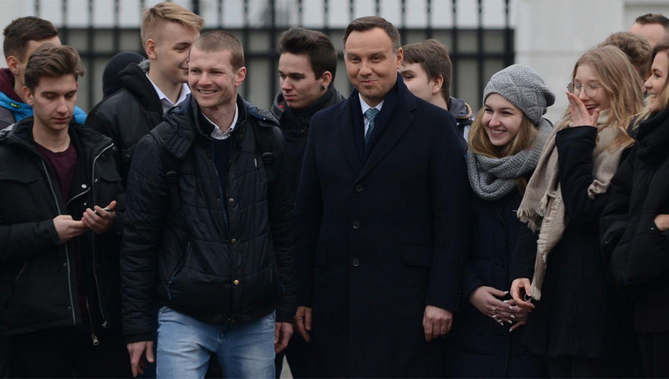 Prezydent Andrzej Duda (fot. PAP/Jakub Kamiński)