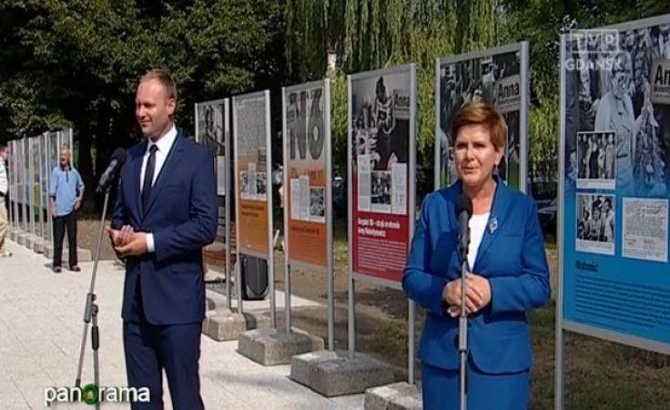 O Sierpniu '80 pod pomnikiem Anny Walentynowicz