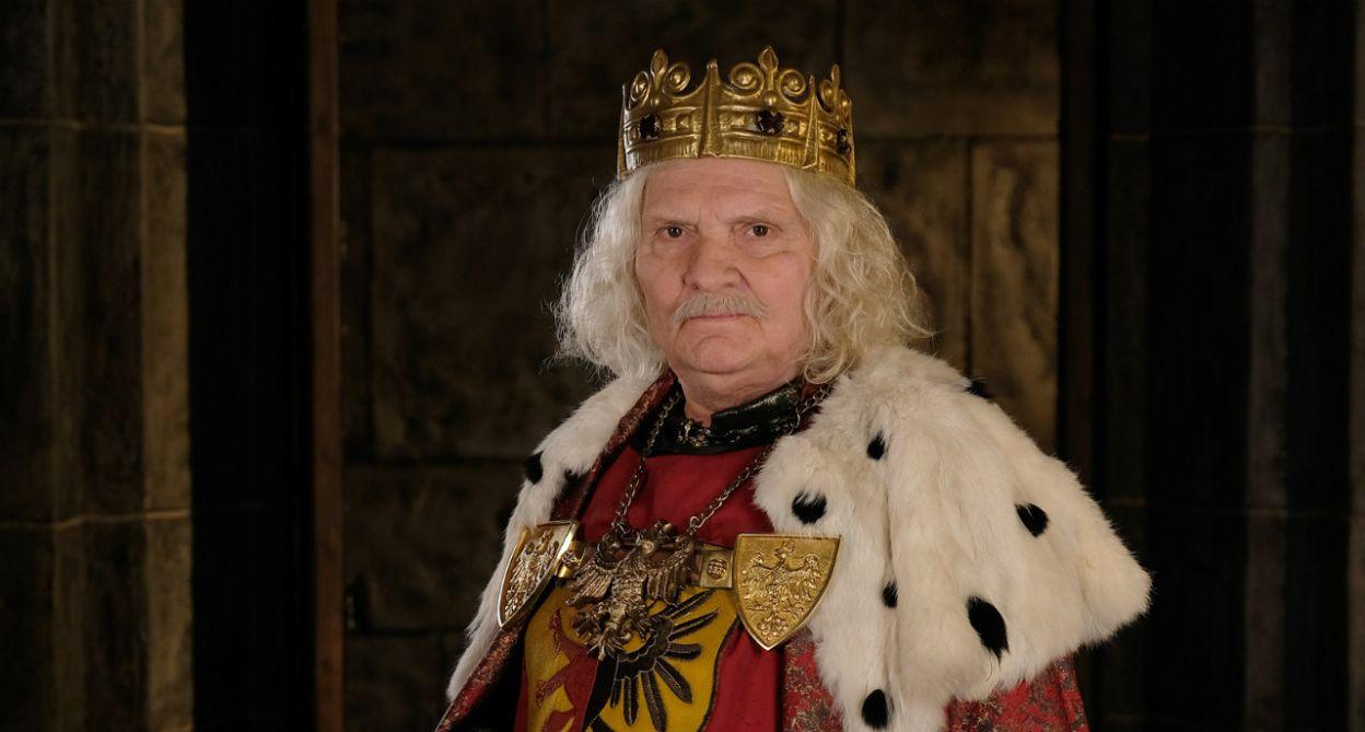 W roli króla Władysława Łokietka wystąpił Wiesław Wójcik