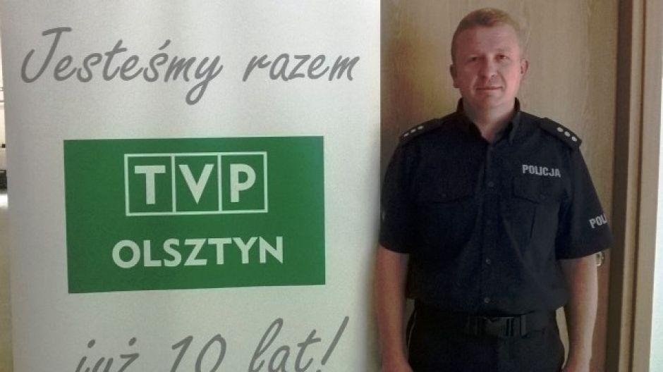 kom. Marcin Świaniarski, Komenda Miejska Policji w Olsztynie