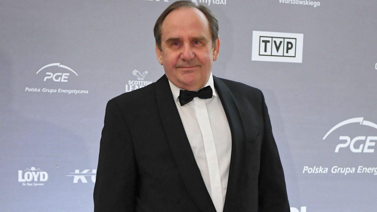 W postać Stanisława Mikołajczyka, polskiego premiera rządu emigracyjnego wcielił się Sławomir Orzechowski (Fot. PAP)