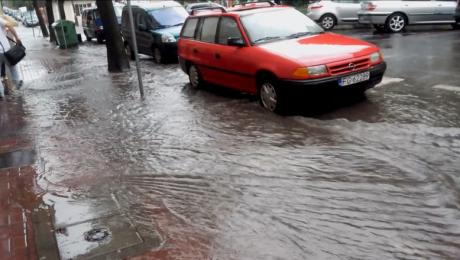 Film od widza: ulewa w Gorzowie Wlkp.