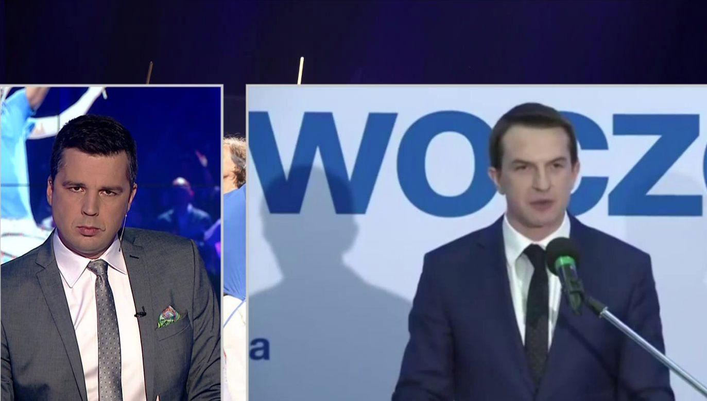 – Przyjmijmy z góry, że nie zrealizujemy swoich programów – zapowiedział Adam Szłapka (fot. TVP.Info)