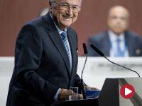 Wygrana Blattera! Rywal wycofał się po I turze
